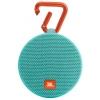 Портативная акустика JBL Clip 2, зеленая, купить за 3 030руб.