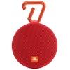 Портативная акустика JBL Clip 2, красная, купить за 2 940руб.