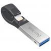 SanDisk iXpand USB 3.0/Lightning 16GB (for iPhone and iPad), купить за 2 470 руб.