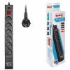 Сетевой фильтр Buro,BU-SP3_USB_2A-B 3м (6 розеток)черный, купить за 860руб.