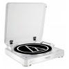 Проигрыватель винила Audio-Technica AT-LP60BT, белый, купить за 14 500руб.