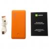 Внешний аккумулятор Harper PB-6001 (6000 mAh), оранжевый, купить за 2 175руб.
