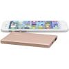 Аксессуар для телефона Внешний аккумулятор PNY PowerPack ALU 2500 (2500 мАч), розово-золотистый, купить за 1 180руб.