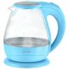 Чайник электрический Energy E-266, голубой, купить за 1 200руб.