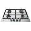 Варочная поверхность Hotpoint-Ariston THC 642 W/IX/HA EE, серебристая, купить за 13 865руб.