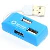USB концентратор 5bites HB24-201BL BLUE, купить за 510руб.