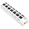 USB концентратор 5bites HB27-203PWH, блок питания, белый, купить за 960руб.