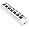 USB ������������ 5bites HB27-203PWH, ���� �������, �����