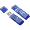 Usb-флешка SmartBuy Glossy 8GB, синяя, купить за 495руб.