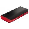 Мобильный аккумулятор Hama Pipe 13000 mAh, черный/красный, купить за 1 350руб.