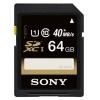 Карта памяти Sony SF-64UY (SDXC, 64 Gb), купить за 1 825руб.