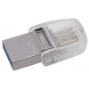 Usb-флешку Kingston 16GB DT microDuo 3C, USB 3.0/3.1 + Type-C flash drive, купить за 1155 руб.