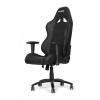 Игровое компьютерное кресло AKRacing Octane_bk, черное, купить за 26 299руб.