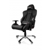 Игровое компьютерное кресло AKRacing Premium AK7002-BB, черное, купить за 27 299руб.