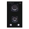 Варочная поверхность MBS PG-302BL, черная, купить за 9 990руб.