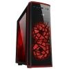 Корпус ATX 3Cott 3C-ATX901GR Avalanche 800W, черный/красный, купить за 4 800руб.