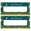 Модуль памяти DDR3 2x8Gb 1333MHz, Corsair CMSA16GX3M2A1333C9 RTL PC3-10600 CL9 SO-DIMM 204-pin 1.5В, купить за 5040руб.