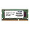 Модуль памяти DDR3 2Gb 1600MHz, Patriot PSD32G160081S RTL PC3-12800 SO-DIMM 204-pin, купить за 1 030 руб.