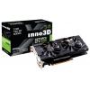 видеокарта GeForce Innovision PCI-E NV GTX1060 TwinX2 3Gb 192b DDR5 D-DVI+HDMI N106F-2SDN-L5GS