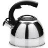 Чайник для плиты Mayer & Boch МВ23193, серебристый/ черный, купить за 870руб.