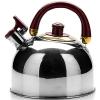 Чайник для плиты Mayer & Boch МВ1069 (вишнёвая ручка), купить за 830руб.