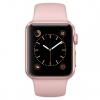 Умные часы Apple Watch Series 1 38mm (MNNH2RU/A) розово-золотистые/розовые, купить за 23 375руб.