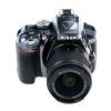 Цифровой фотоаппарат Nikon D5300 KIT (AF-P DX 18-55mm VR), серый, купить за 40 260руб.