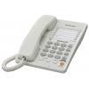 Проводной телефон Panasonic KX-TS2363RUW, белый, купить за 2 045руб.