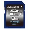 ADATA Premier SDHC Class 10 UHS-I U1 8GB, купить за 800руб.
