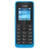 Сотовый телефон NOKIA 105, голубой, купить за 1 620руб.