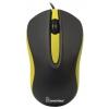 Мышка SmartBuy SBM-329-KY черная/желтая, купить за 350руб.