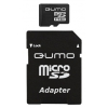 Qumo microSDHC 8Gb Class6 + microSD-->SD Adapter, купить за 445руб.