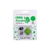 карта памяти Qumo Fundroid MicroSDHC Memory Card 8Gb Class10 + USB microSD Reader, зелёный