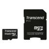 Transcend microSDXC 64Gb Class 10 + microSD-->SD Adapter, купить за 1 950руб.