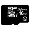 Silicon Power microSDHC Memory Card 16Gb UHS-I U3 + microSD-->SD Adapter, купить за 1 210руб.