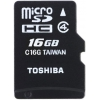 microSDHC 16Gb Class4 Toshiba, купить за 905руб.