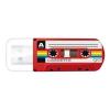 Usb-флешка Verbatim 32Gb Mini Cassette Edition 49392 USB, красная, купить за 890руб.