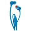 гарнитура для телефона JBL T110BLK, синяя