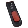 Usb-флешка ADATA Classic C008 32GB, USB2.0, чёрно-красная, купить за 930руб.