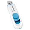 Usb-флешка ADATA Classic C008 32 GB, USB2.0, бело-синяя, купить за 485руб.