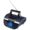 Портативная акустика Perfeo Stilius, черно-фиолетовая, купить за 1 095руб.