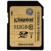 Kingston SDXC Memory Card 512Gb UHS-I U1, купить за 15 000 руб.