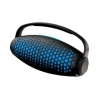 Портативная акустика Ginzzu GM-989В, черно-голубая, купить за 2 585руб.