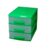 органайзер Роccпласт (мини), 3 ящика, салатовый/прозрачный, купить за 330руб.