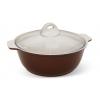 Кастрюля Kukmara ж31пко жаровня, коричневая, купить за 1 880руб.