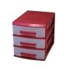 органайзер Росcпласт (мини) 3 ящика красный/перламутр, купить за 545руб.