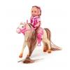 Кукла Еви на прыгающей лошади (12 см), купить за 1 540руб.