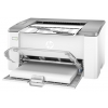 Лазерный ч/б принтер HP LaserJet Ultra M106w, белый, купить за 12 495руб.