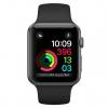 Умные часы Apple Watch Series 2 42mm, графит/черные, купить за 30 400руб.