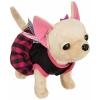 Игрушка мягкая Simba Плюшевая собачка Вампирчик, в платье с крылышками, в сумочке, 20 см, купить за 2 680руб.